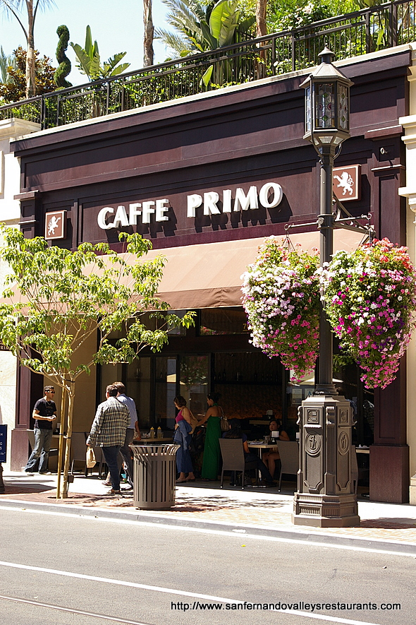 Caffe Primo in Glendale, California