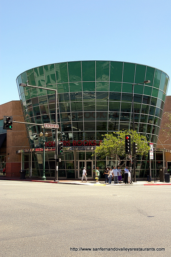 Borders Bookstore in Glendale, California