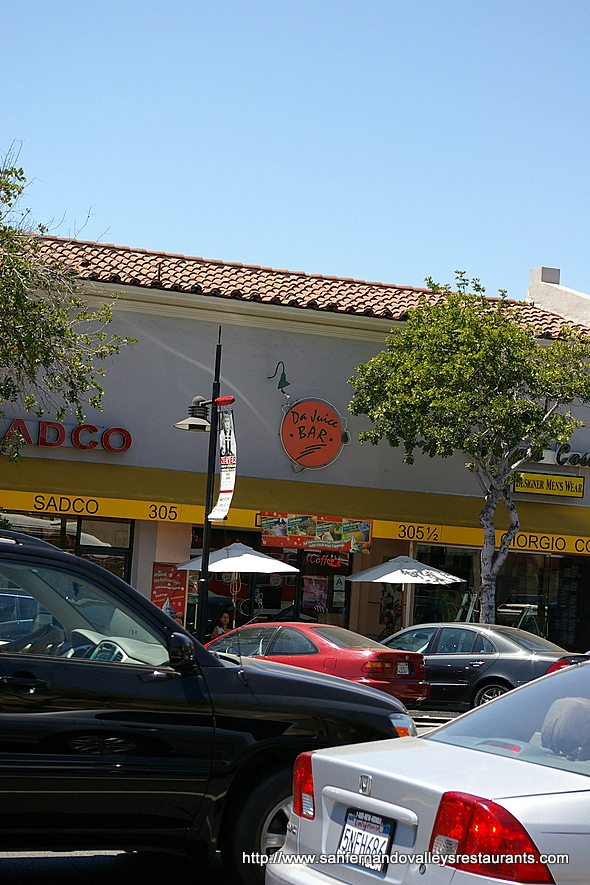 Da Juice Bar in Glendale, California
