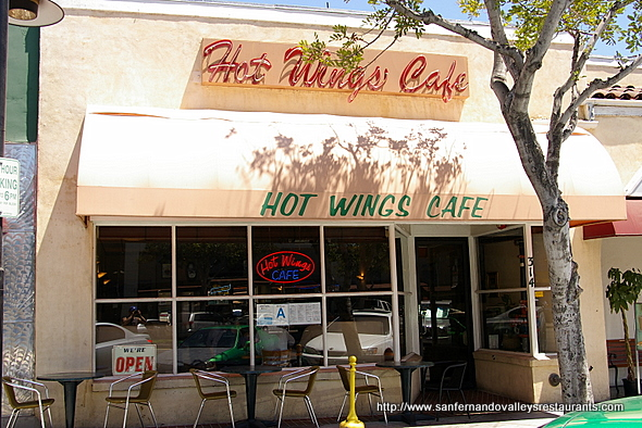Hot Wings Café in Glendale, California