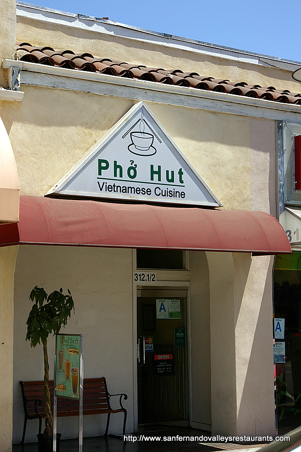 Pho Hut in Glendale, California
